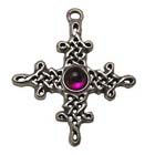 Tara, Celtic Legends, High Concepts, Celtic Knot, Celtic Cross, Leadfree, Pewter, Amulet