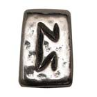 Astrology, Horoscope, Runes, Peorth, High Concepts, Leadfree, Pewter, Amulet